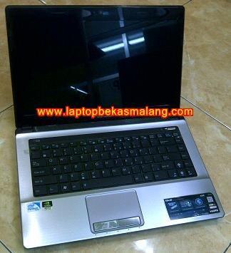 Jual Laptop Bekas ASUS A43SD-VX052D Gaming & Desaign Seperti Baru malang