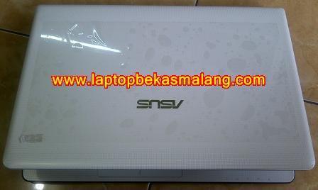 Jual Laptop Bekas ASUS X401U Putih, Seperti Baru 2-jutaan malang