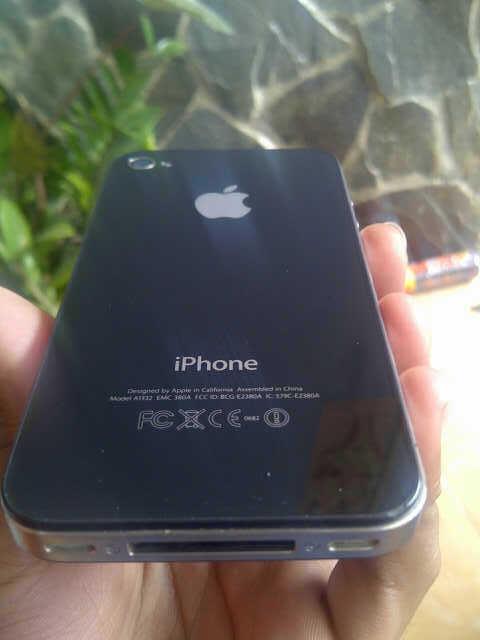 Iphone 4G 32 GB 2nd udah unlock
