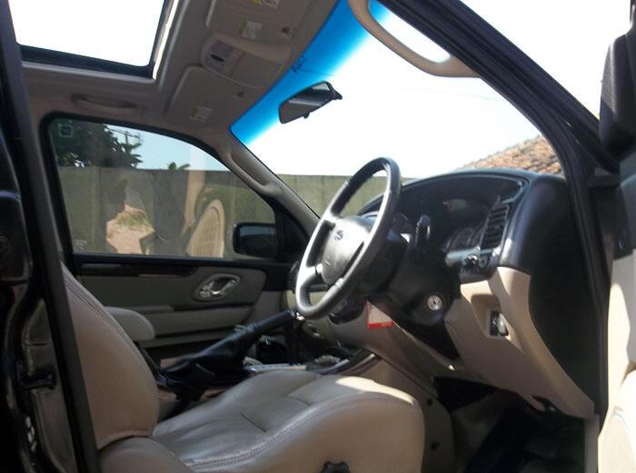 """ford escape """"limited"""" 2009 velg 22"""" croom GANTENG"""