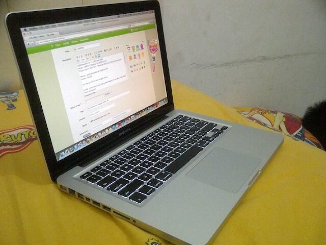 """Jual MacBookPro 13"""" - 2.8 GHz I7 Model : MD314LL/A"""
