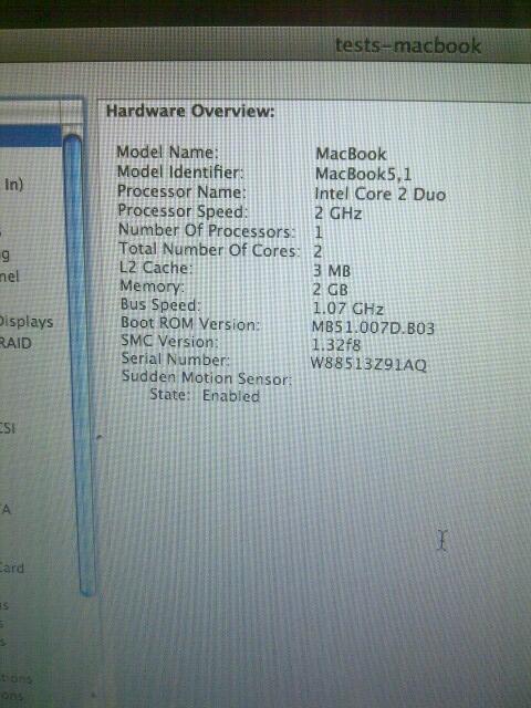 Macbook Unibody Late 2008 Like NEW.