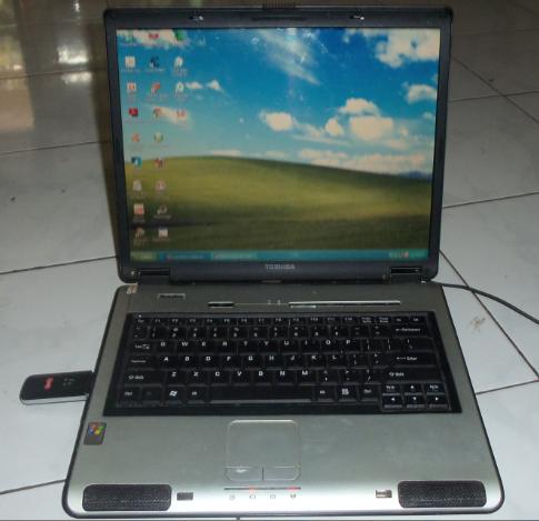 dijual murah laptop /notebook toshiba L100