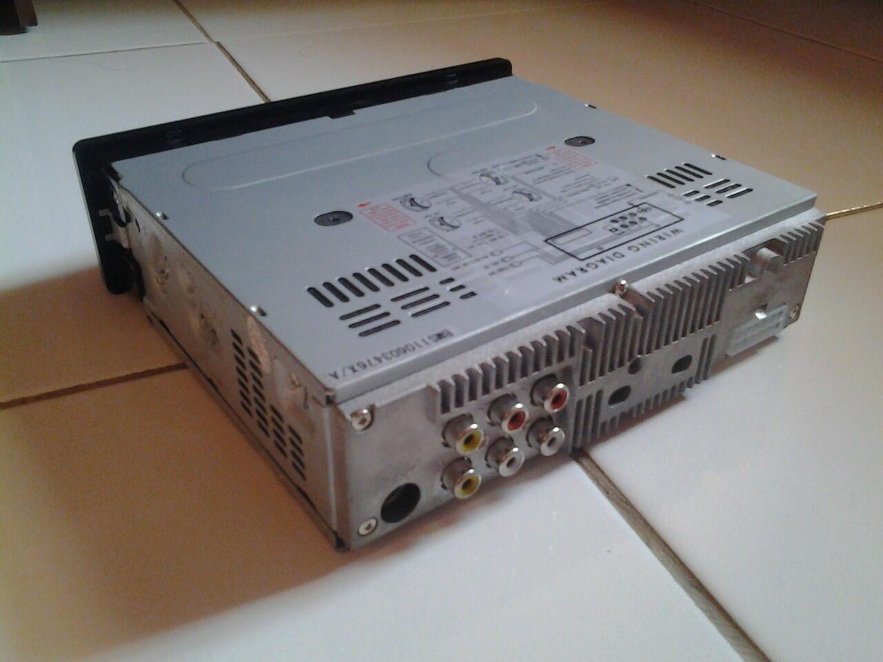 WTS Head Unit GMC BM-202 (DVD,USB,SD)