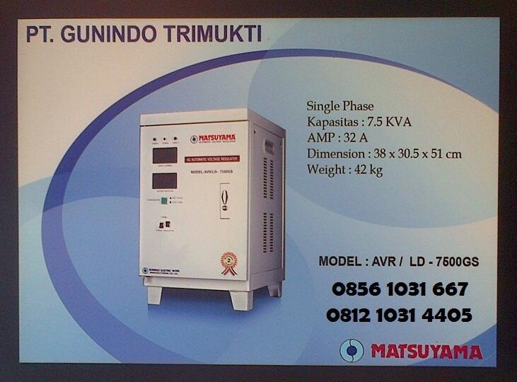 Distributor Avr, Stavolt, Stabilizer Matsuyama
