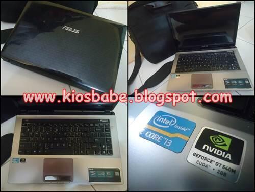 Laptop Bekas | Asus VGA nVidia 2GB - Malang