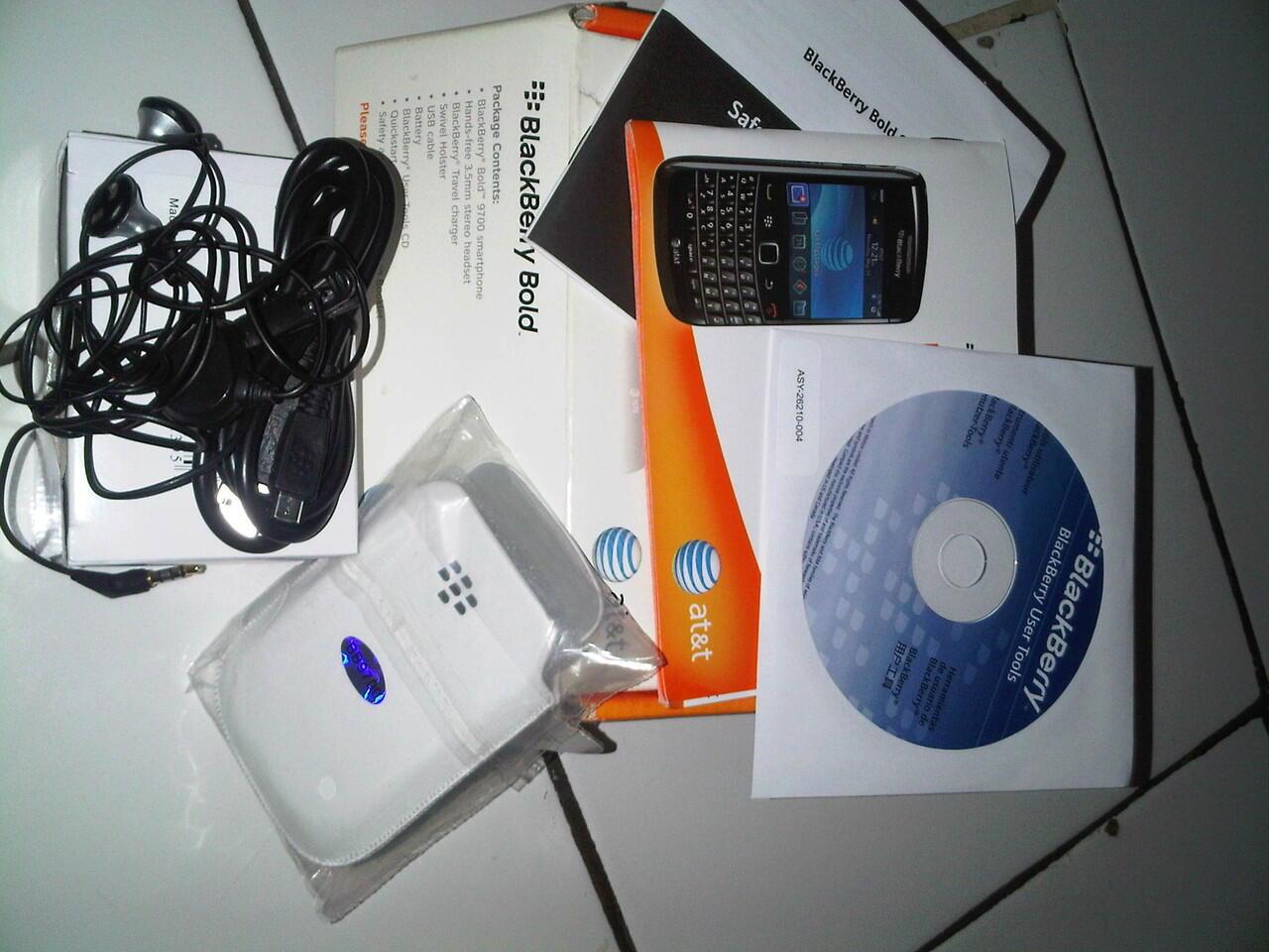 BB Onyx 1 Black( 9700 ) Ex Garansi Lengkap