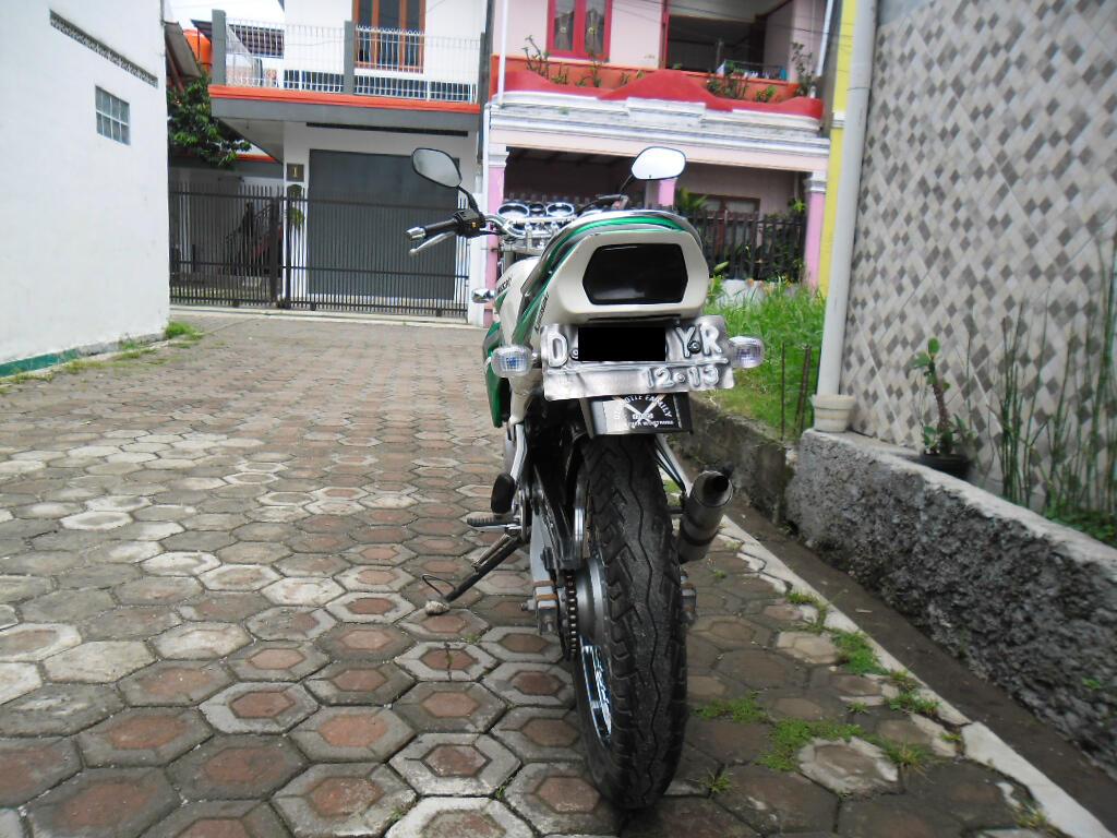 Kawasaki Ninja R Putih 2003 Bandung