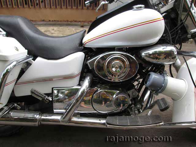 MOGE   Motor Besar   Motor Ruby POLICE   Harga 30 jt-an Surat STNK + BPKB lengkap