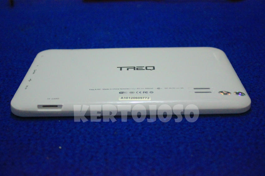 Jual tablet pc merk Treq a10c 16Gb murah...