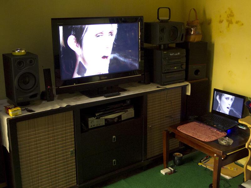WTS 1 Set Laptop ASUS-A42N+AltecVS4121+ProlinkPCM100+HDMI