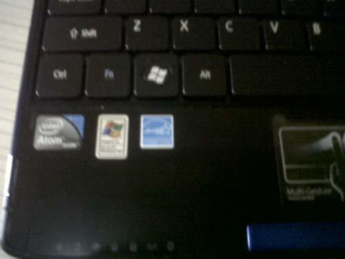 Acer AO532h, INTEL ATOM N450, MULUS ,SEGEL, BANDUNG