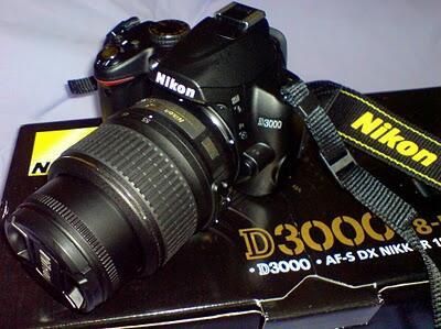 DIJUAL NIKON D3000