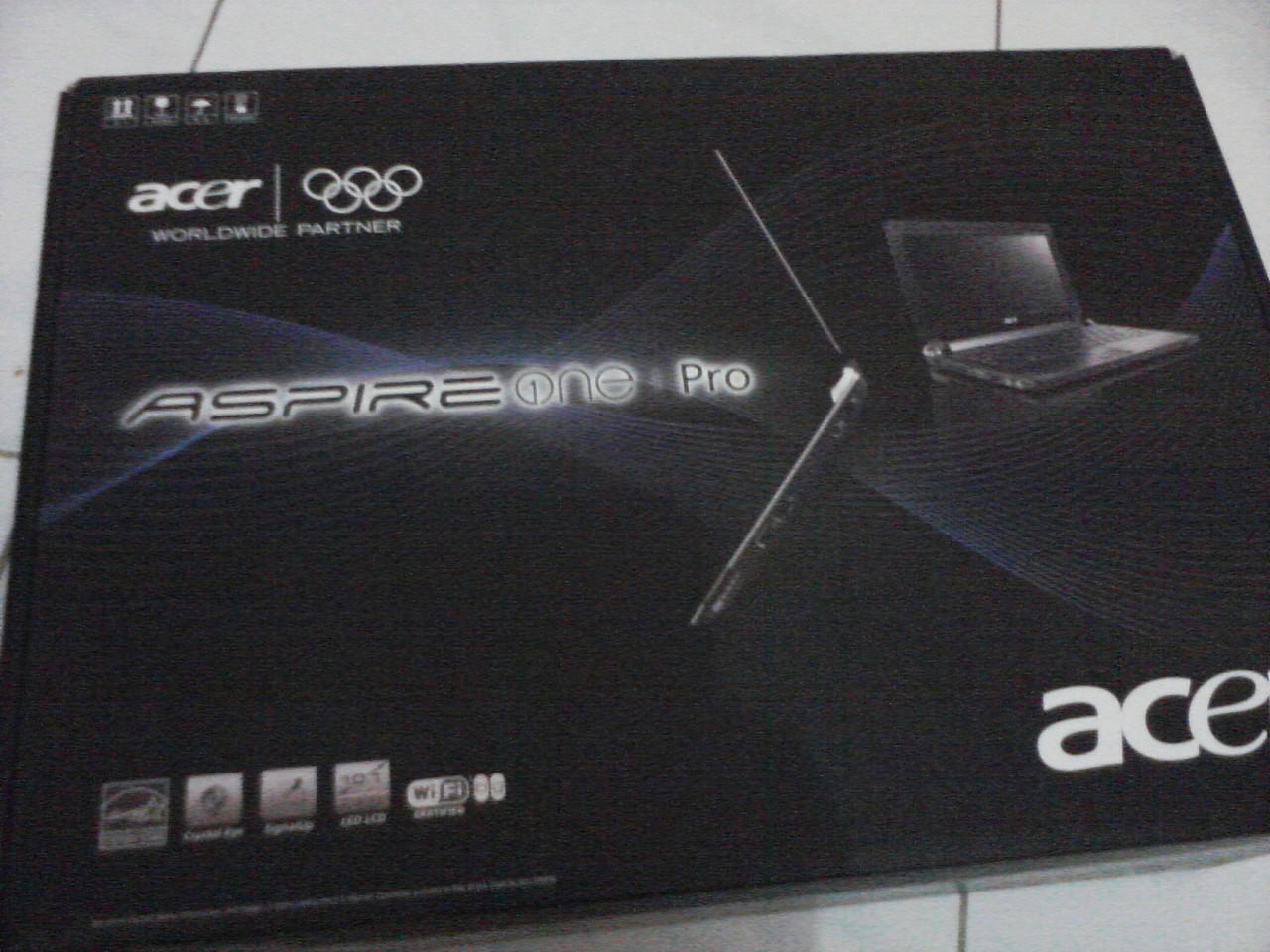 (WTS) Acer Aspire One Pro P531h DIJUAL