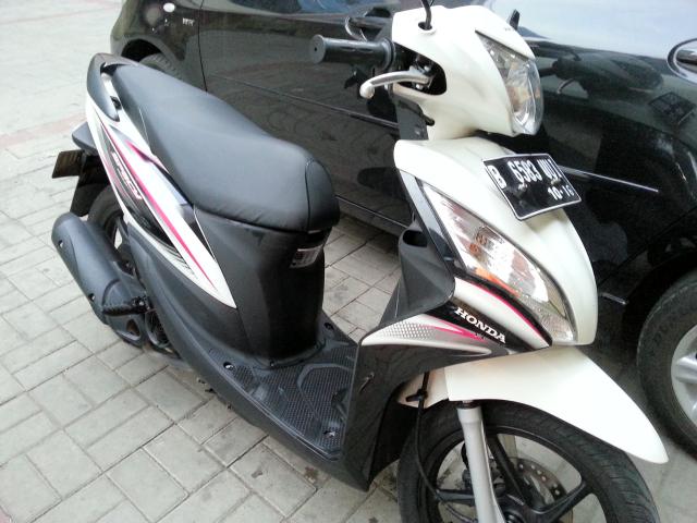 Jual Honda Spacy Putih 2011-10 KM 2700
