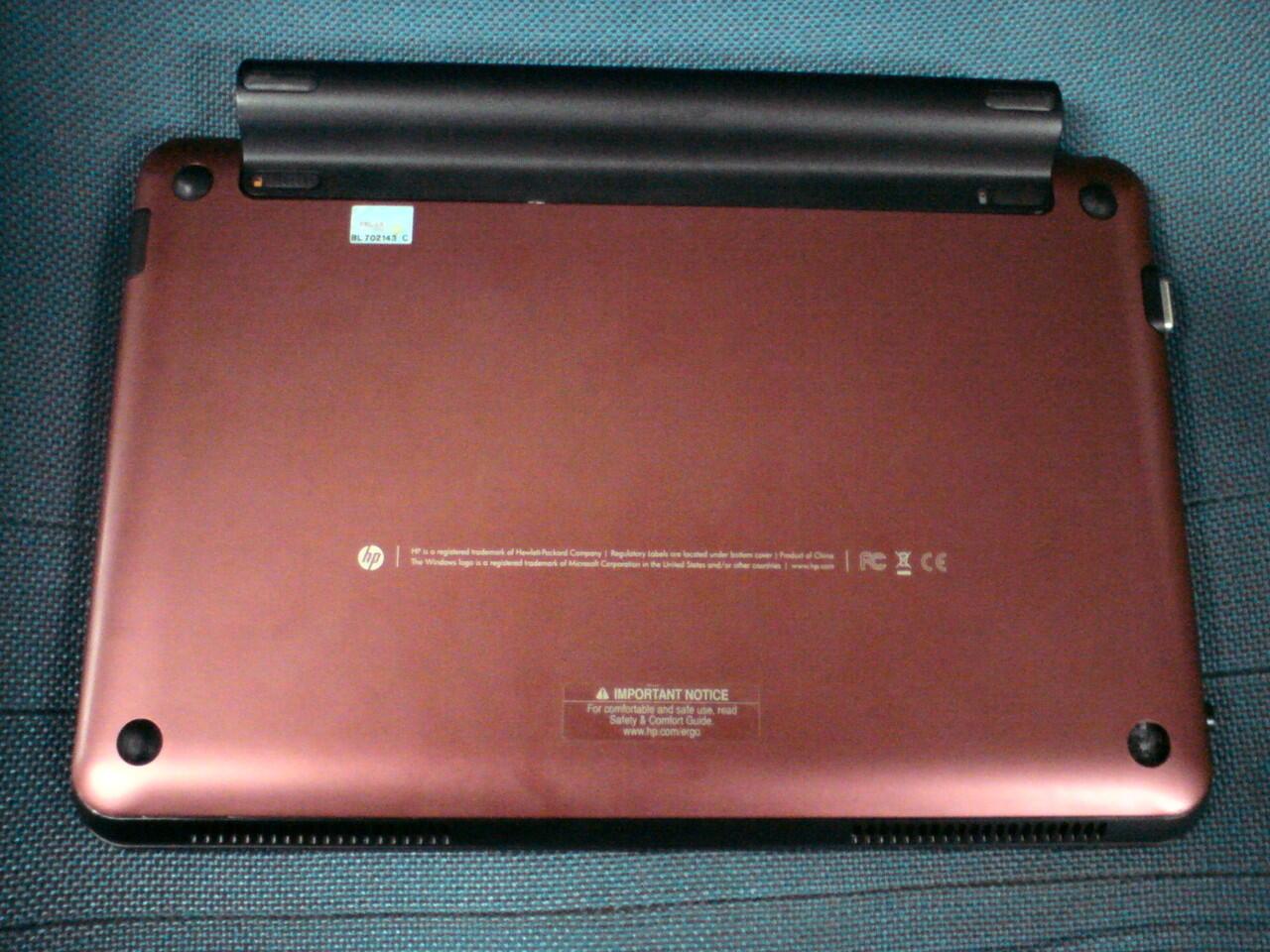 Jual Netbook Hp Mini 210-1064TU (Motherboardnya Rusak) - Rp.700.000,-
