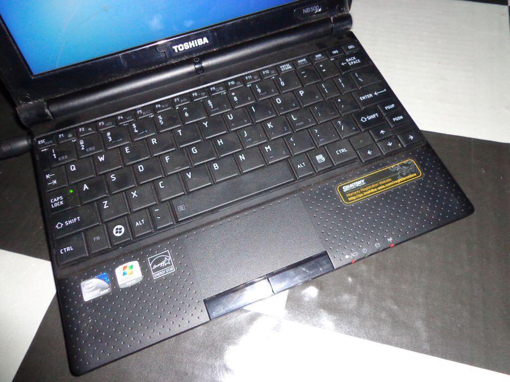 Toshiba nb500 n450 hdd 250gb like new murahh