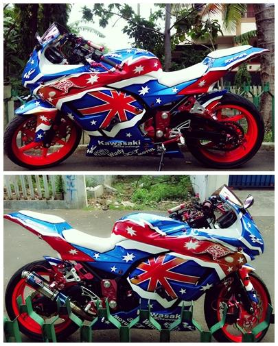 Jual Ninja 250 Full modifikasi