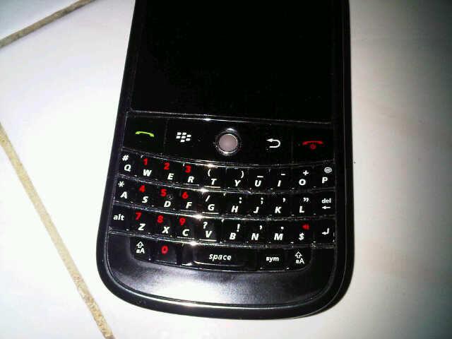 Blackberry Bold 9000 Second