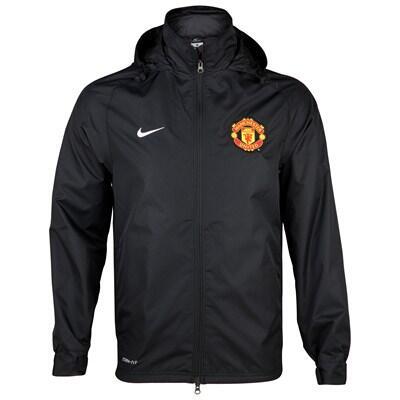 Jaket Training Manchester united Sideline hitam