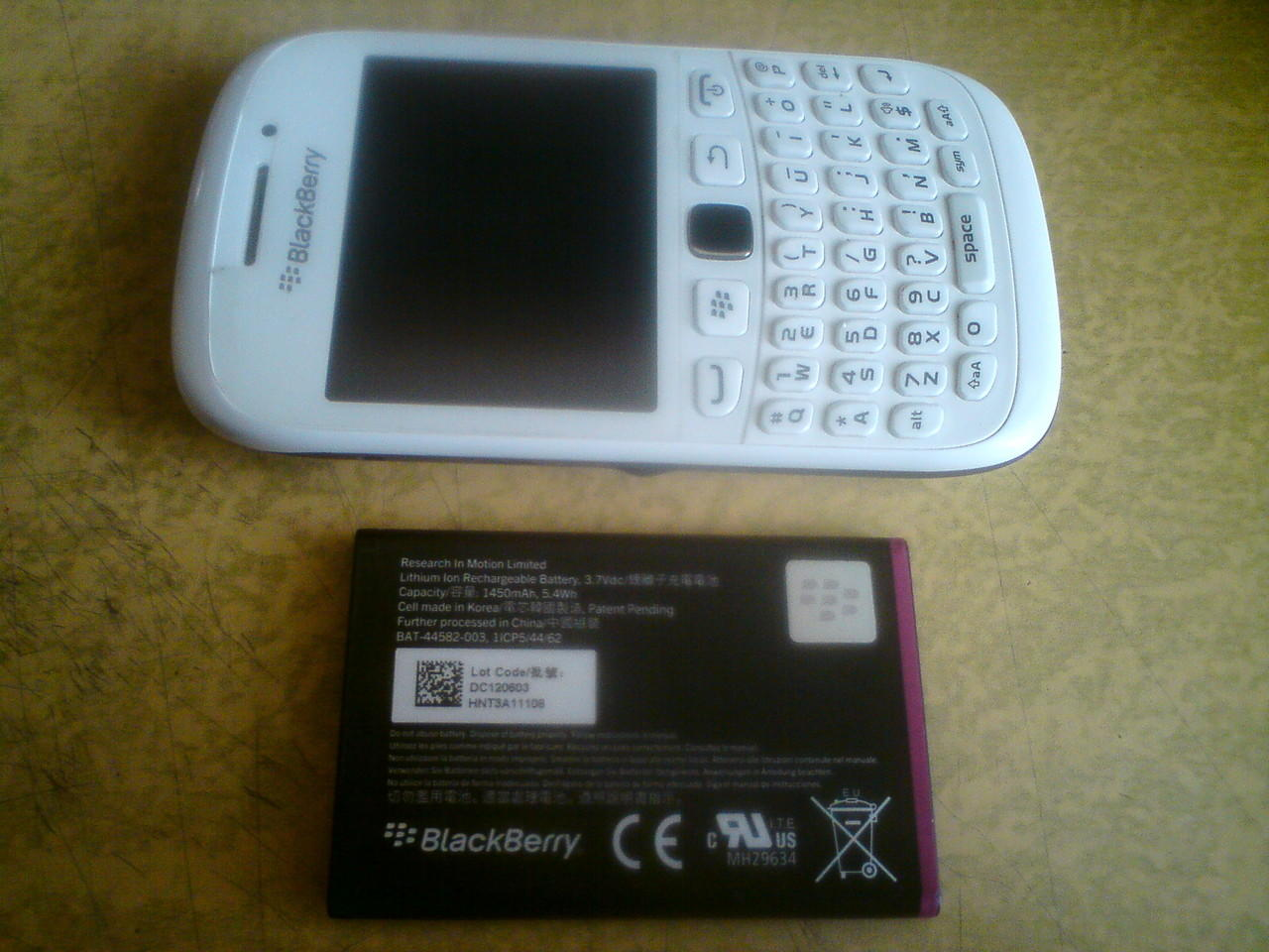 Hp Blackberry Amstrong/Curve 9320