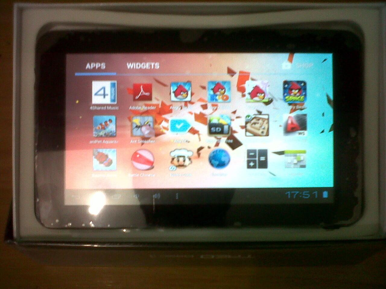 tablet pc ipad apad epad mid merk TREQ A10 BASIC 3 cortex A13 1,2 GHz. Game 3D, FULL