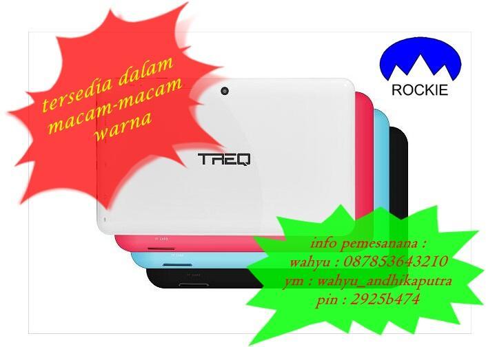 tablet pc epad apad ipad mid merk TREQ A10G DUO 16GB. CALL + SMS. OS 4.0 ( ICS )