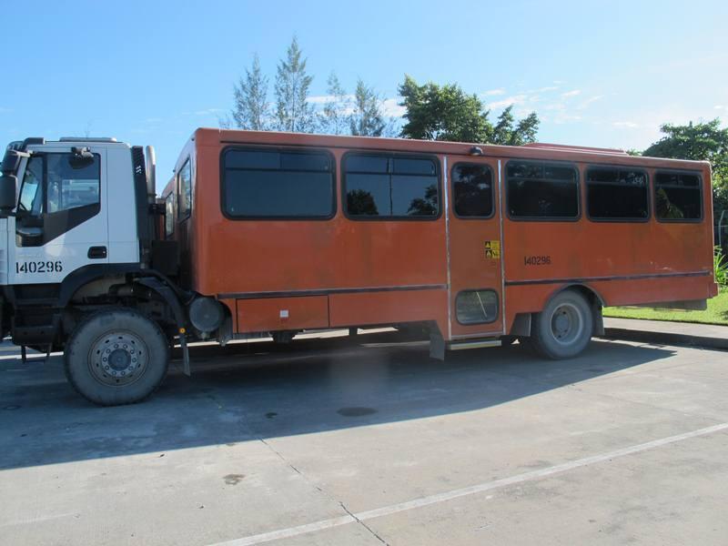 Hanya Ada di Timika, Bus Anti Peluru!