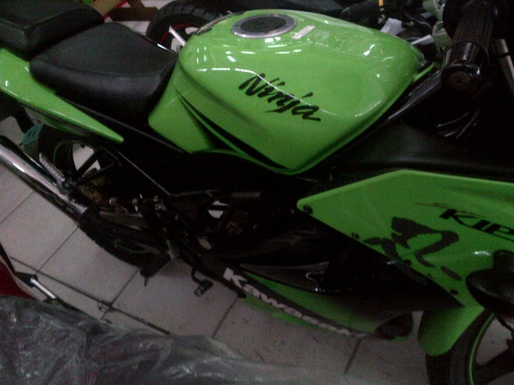 Jual Ninja 150 RR second 2011 bulan 9