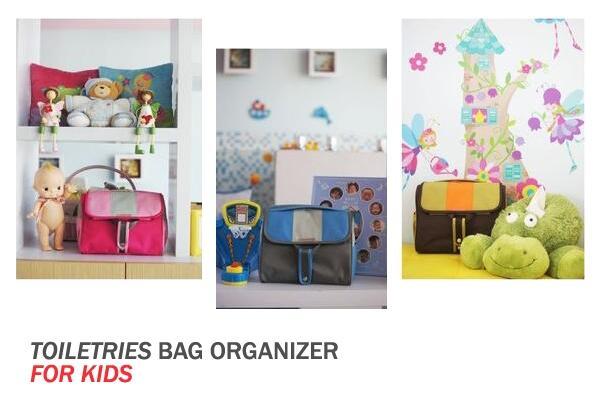 Toiletries Bag Organizer for Kids