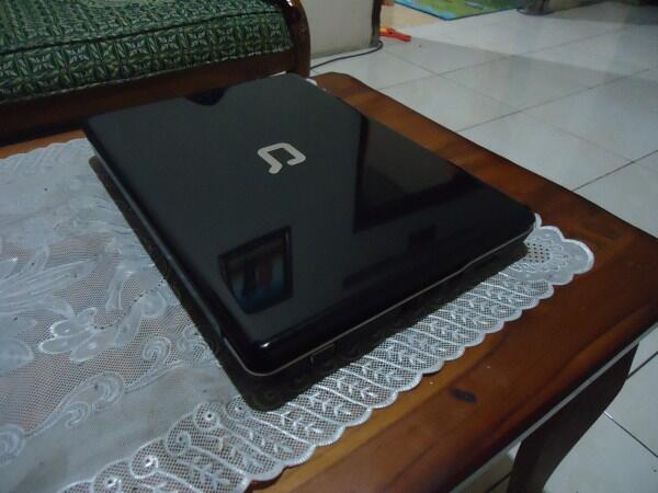 Notebook Compaq CQ41 Core i3/2GB/320GB mulus normal siap pakai, murah aja