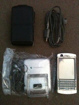 Sony Ericsson p990i Matot