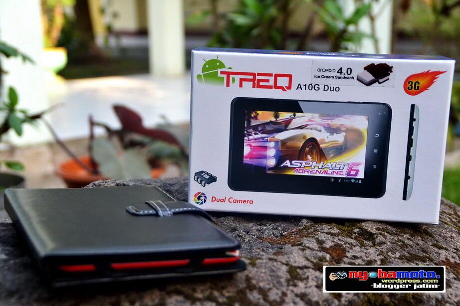 Tablet PC Merk TREQ A10G DUO 16GB CALL,SMS,BLUETOOTH