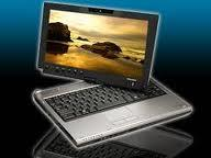 "TABLET PC TOSHIBA Portege M700 ""SENTUH JARI DAN PEN"""