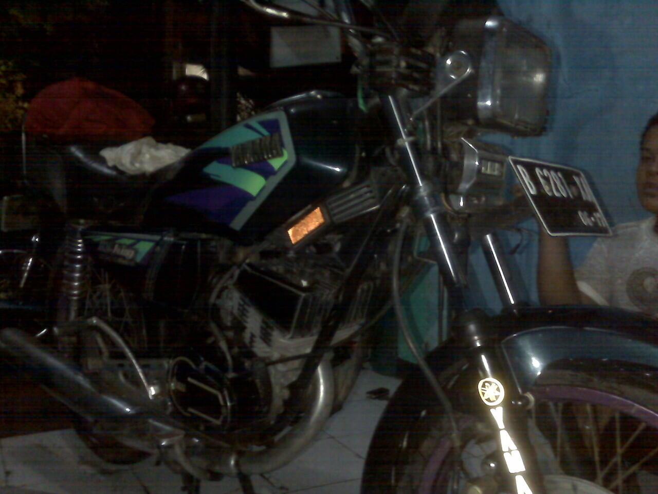 YAMAHA RX KING 97 ORIGINAL TANGAN PERTAMA DARI BARU PAJAK PANJANG