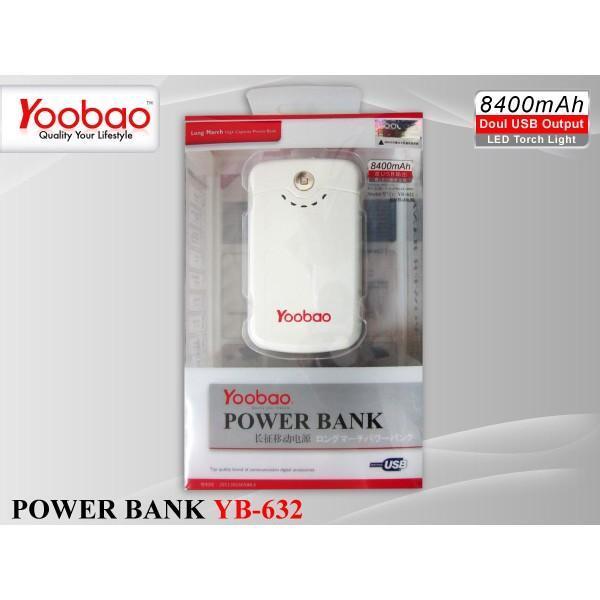 POWER BANK YOOBAO YOOBAO YOOBAO 8400-11200-1300 mah.