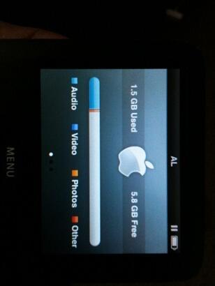 Ipod nano 3rd 8gb