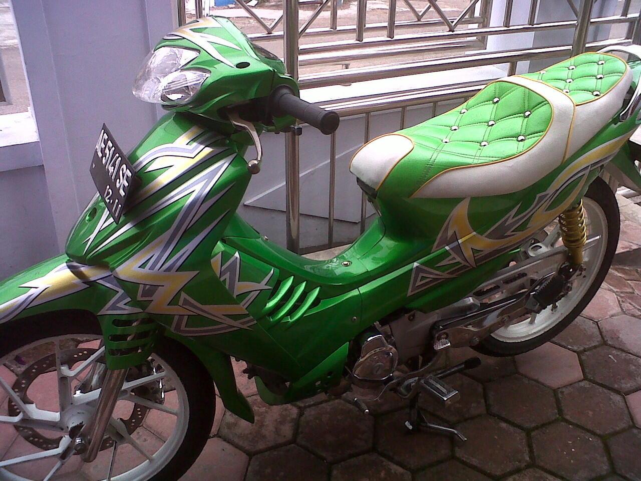Jual Shogun SP 125 Thn 2006 Modif