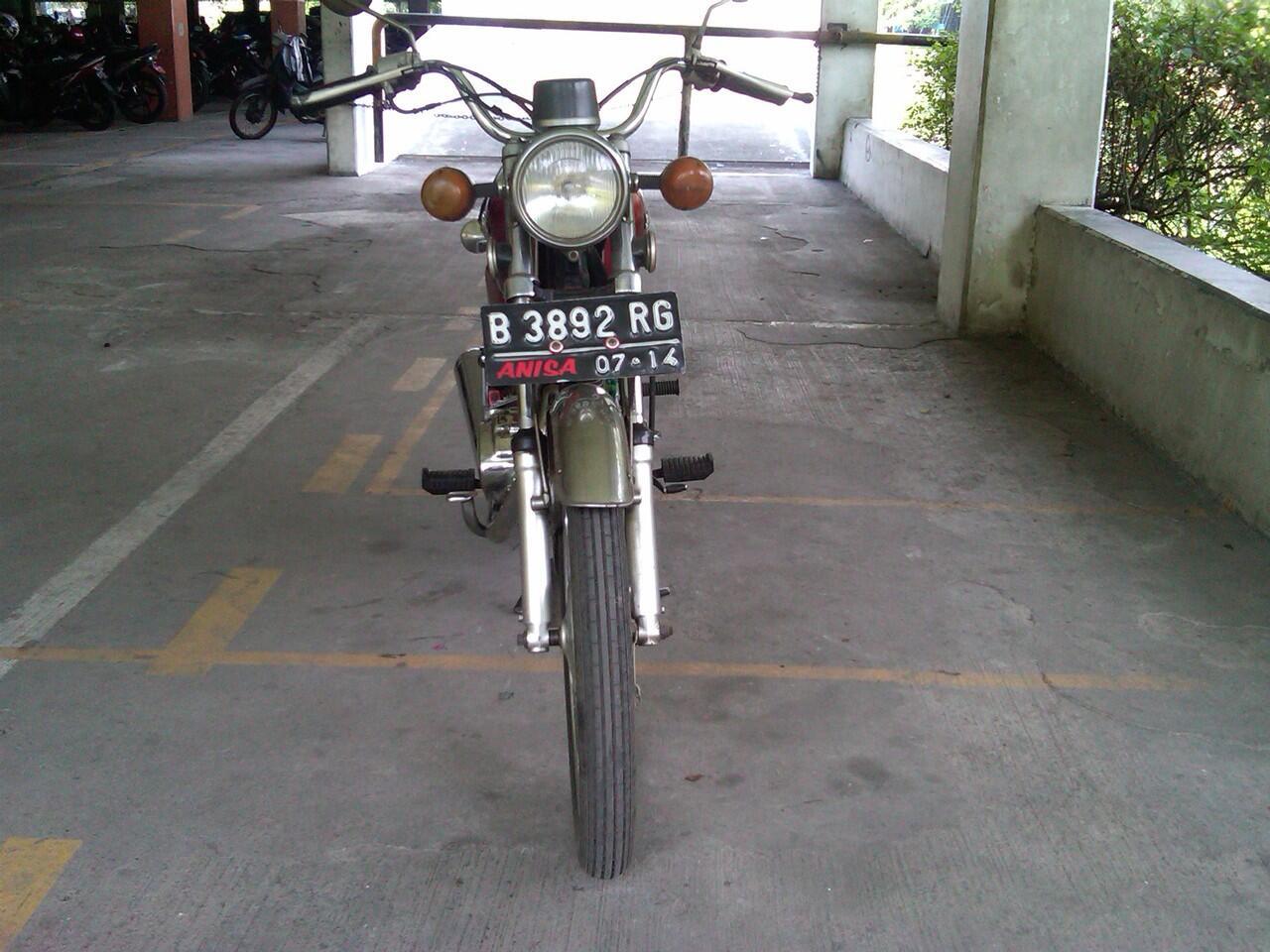 motor honda cg 110