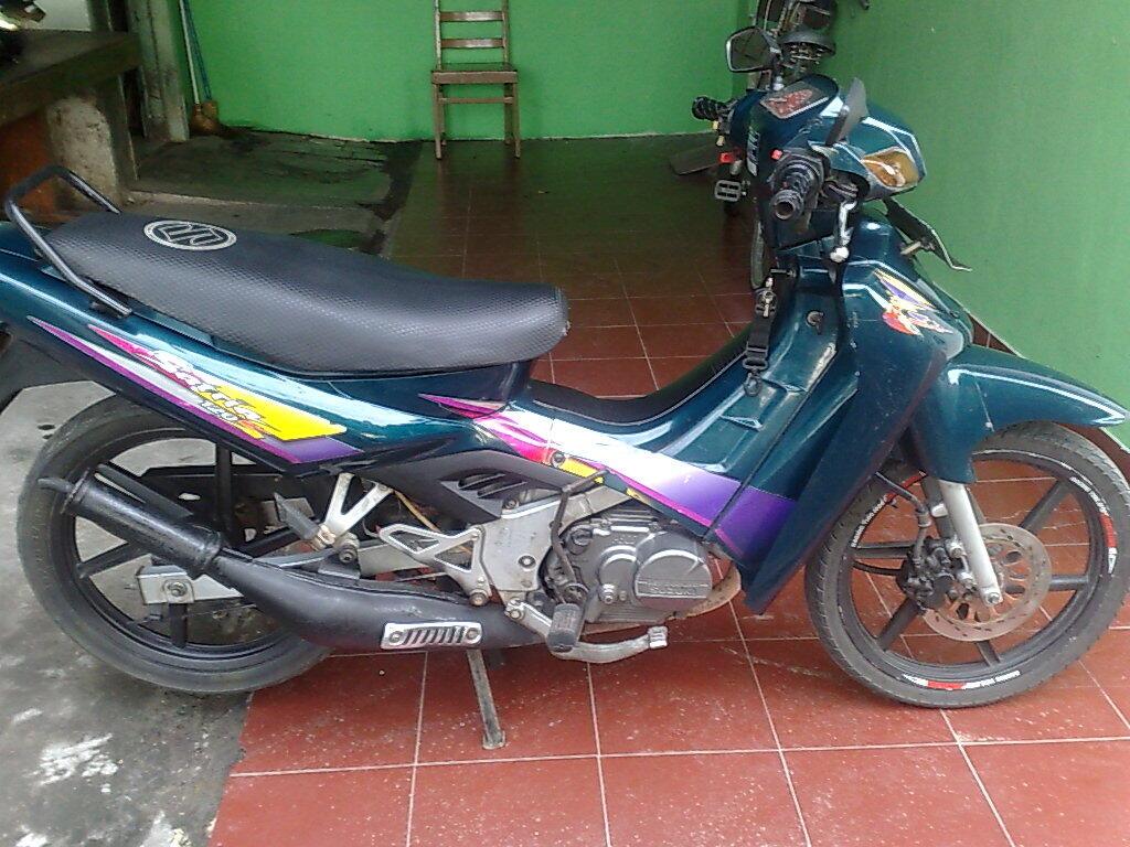Motor Satria 120 S or Suzuki RU 120