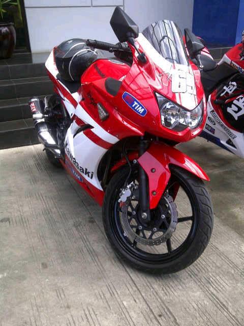 Kawasaki Ninja 250 cc keren abisss