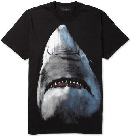 PO Replika kaos/sweater Givenchy Shark no quota