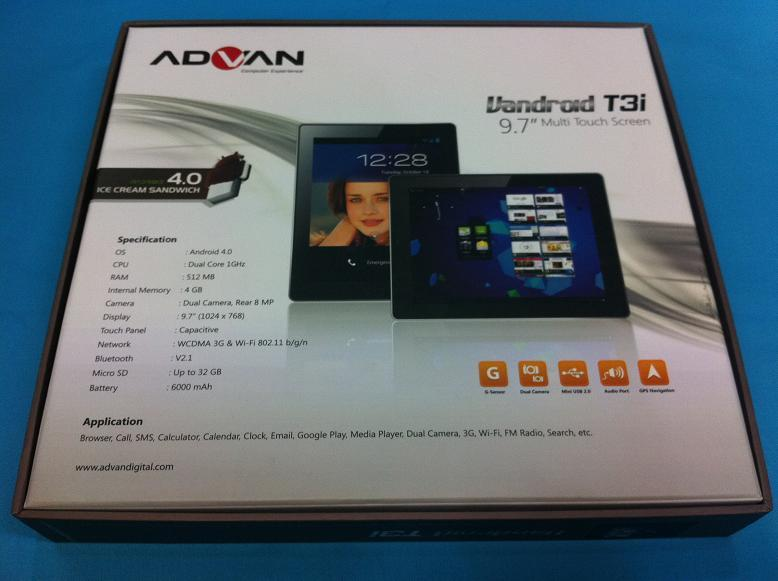 Hot Promo Vandroid T3i Dual Core 1 GHZ