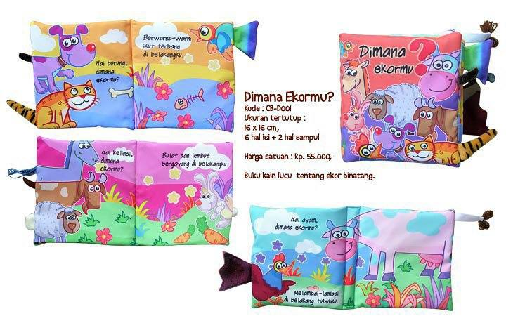 BUKU BANTAL buku empuk yang menarik untuk anak