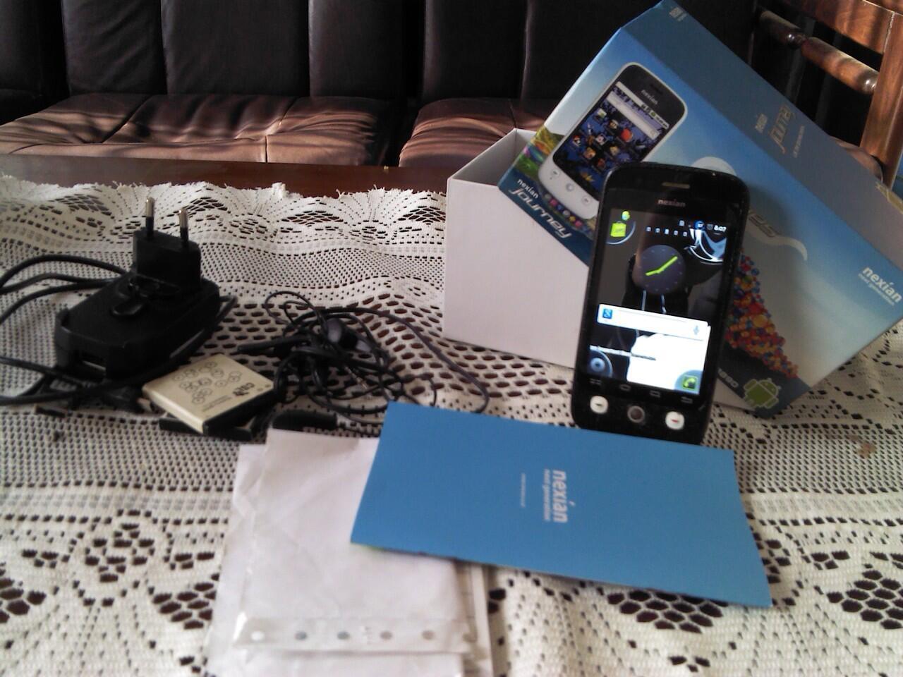 Jual android Nexian Journey a890 Hitam Metalik 600k COD BANDUNG