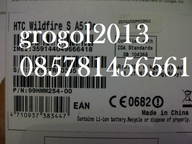 WTS HTC Wildfire S A510e Dark Grey New BNIB Murah Gans