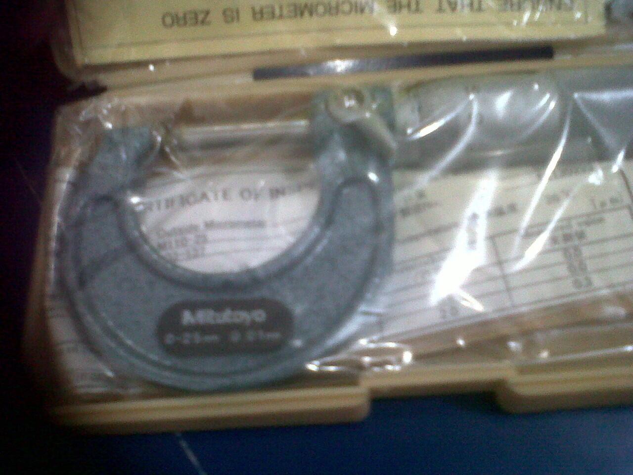 wts micrometer(mitutoyo) murah banget