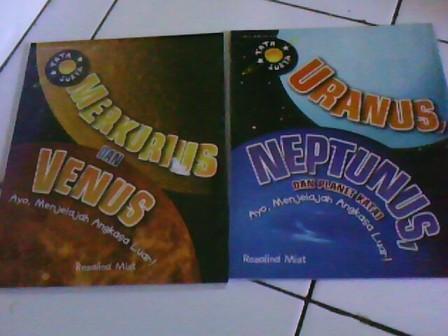 Merkurius & Venus, Uranus & Neptunus