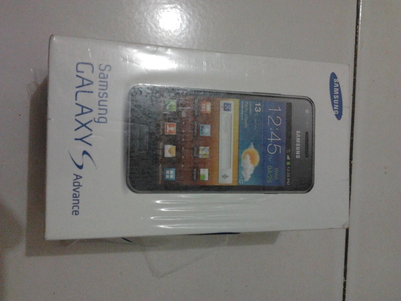 Dijual Samsung Galaxy S Advance