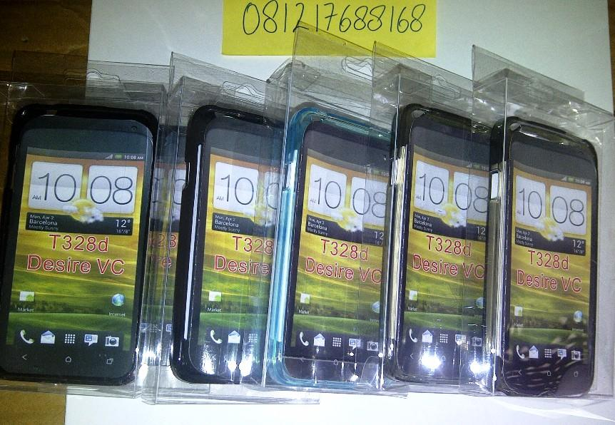 HTC DESIRE VC Soft Jacket + Screen Guard